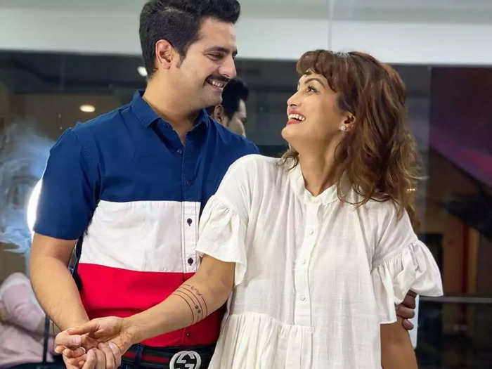 actor karan mehra on wife nisha rawal claims says he was beaten and slapped with cctv off