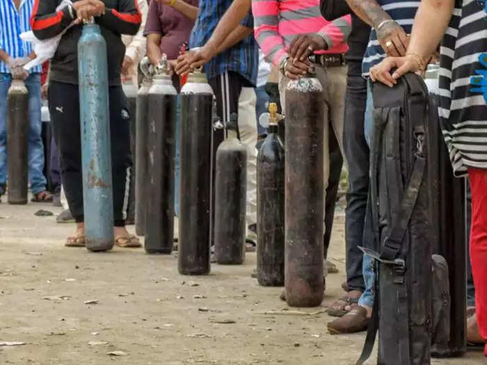 कर्नाटक में ऑक्सिजन क्राइसिस
