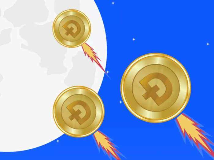 dogecoin rallies 20 percent on coinbase listing, know the cryptocurrency price