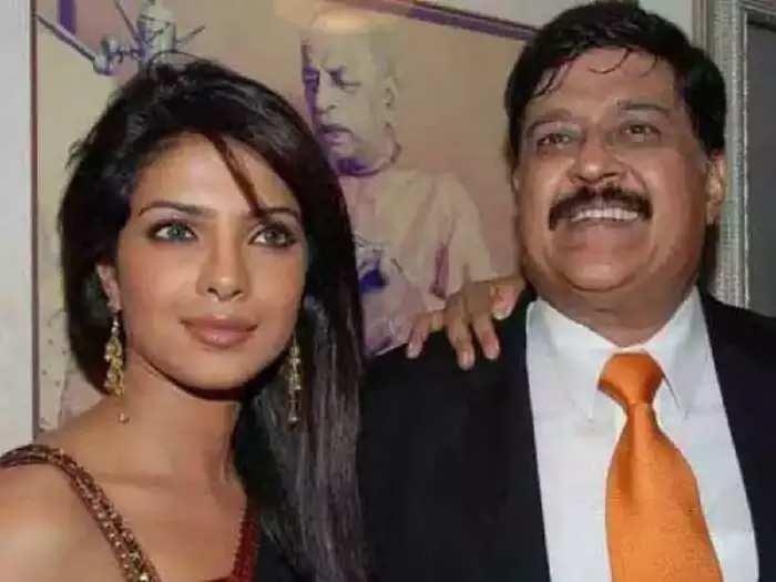 actress priyanka chopra bussy with her work when father was ill in marathi