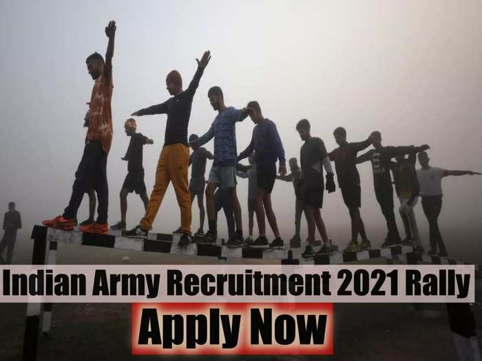 Indian Army Recruitment 2021 Rally