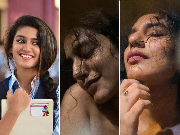 wink girl priya prakash varrier raises temperature with new self-portraits