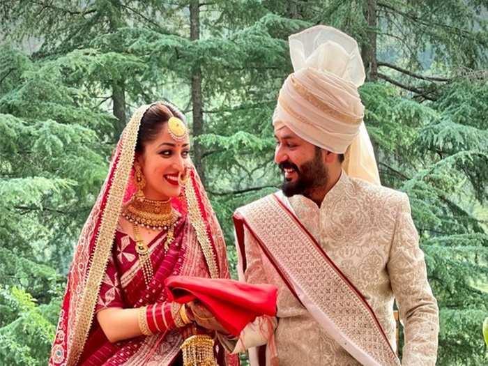 Yami Gautam Married Aditya Dhar | Yami Gautam & Aditya Dhar Weeding Photos and Videos