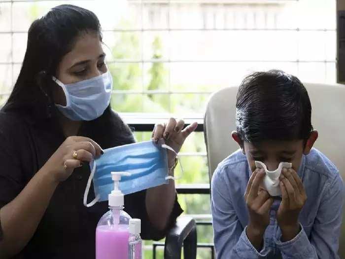 black fungus infection to children in marathi