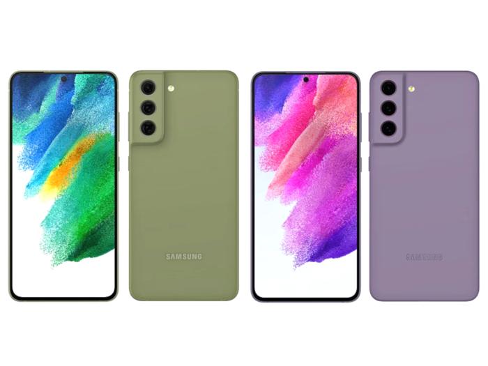 Samsung Galaxy S21 FE first look