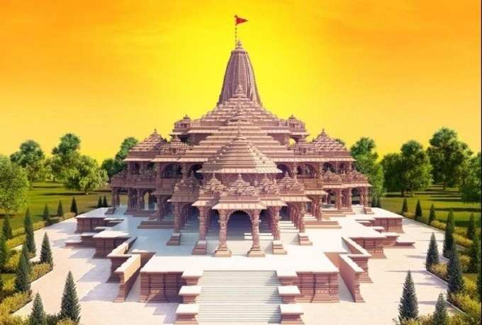 Ram Temple in Ayodhya: Construction of Ram temple going on fast, foundation filling will be completed by October