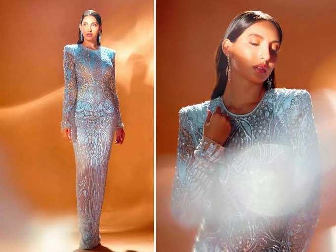 अभिनेत्रीने पारदर्शक ड्रेस घालून बोल्ड व हॉट लुकमधील फोटो केले शेअर, पण मेकअपमुळे बिघडली स्टाइल