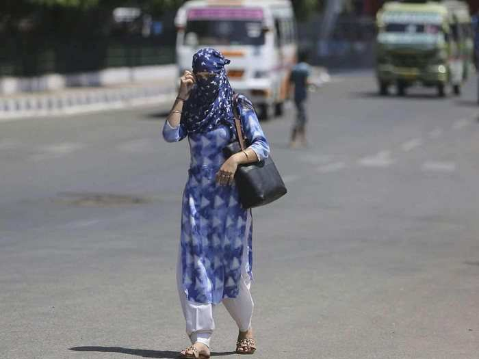 temperature rises in northern states including delhi up and bihar as monsoon advances