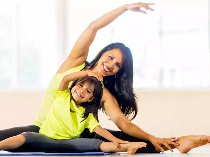exercises to reduce belly fat and weight loss post pregnancy in marathi