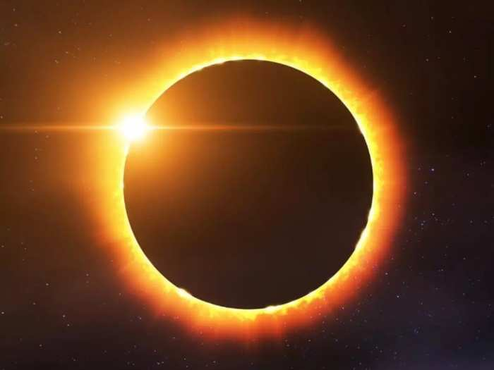 ring of fire solar eclips