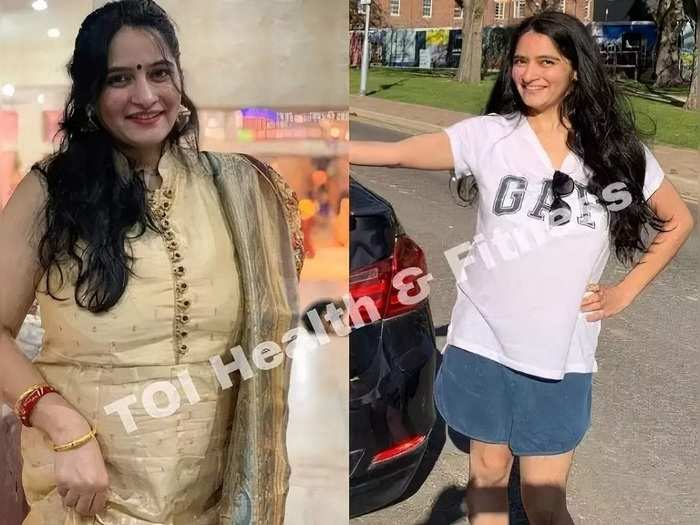 a woman who gained 70 kg after delivery lost 20 kg using these special weight tips in marathi