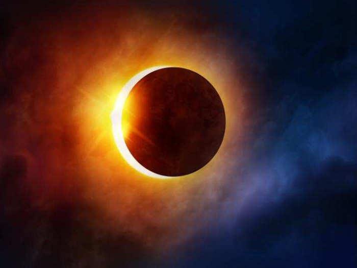 solar eclipse 2021 surya grahan auspicious for these zodiac signs in marathi