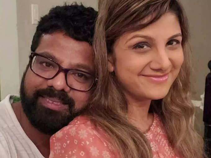 Rambha With Husband