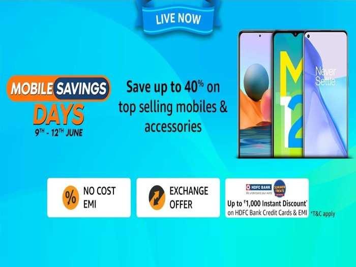 Mobile Saving Days Sale