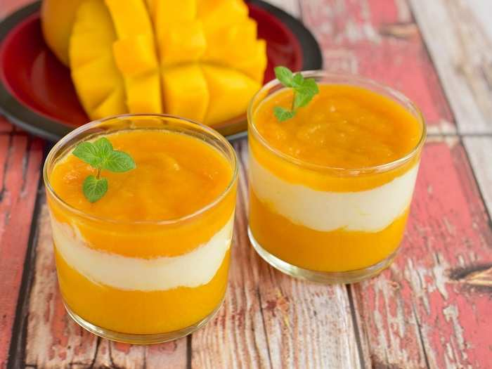 how to prepare mango puree for baby