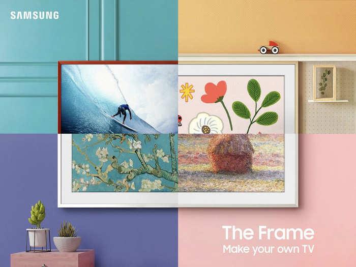 samsung the frame tv 2021