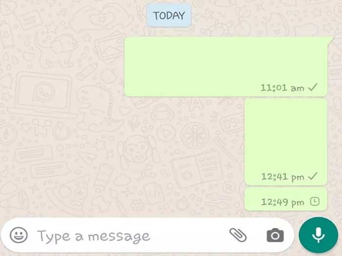WhatsApp ನಲ್ಲಿ ಖಾಲಿ ಮೆಸೇಜ್ ಕಳುಹಿಸುವುದು ಹೇಗೆ?: ಇಲ್ಲಿದೆ ನೋಡಿ ಟ್ರಿಕ್