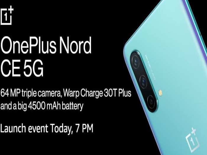 OnePlus Nord CE 5G India launch