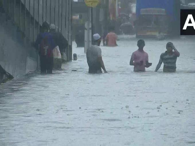 Mumbai Monsoon rain