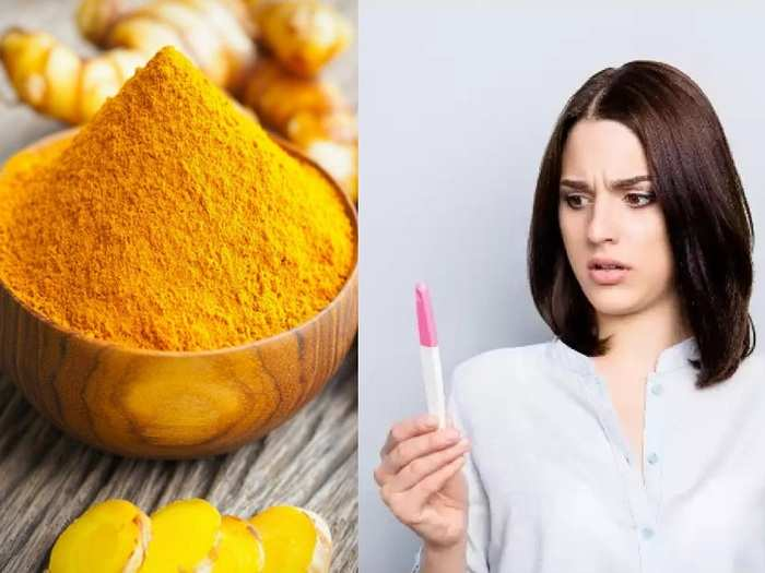 turmeric home remedy to get pregnant and boost fertility