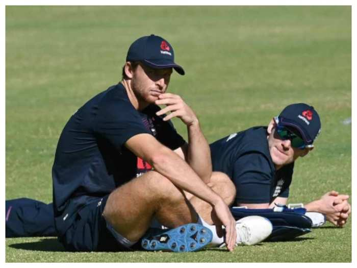 Jos Butler and Eoin Morgan