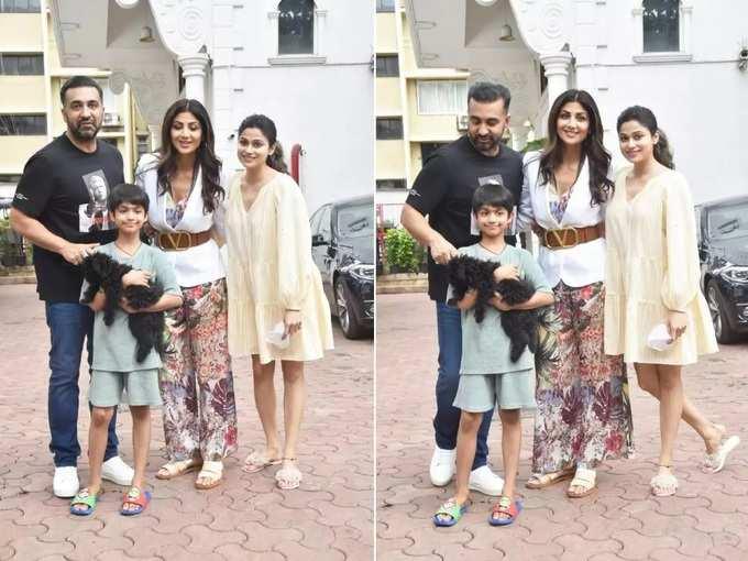 शिल्पा शेट्टीच्या पार्टीत बहीण शमिताचीच चर्चा, छोटा फ्रॉक घालून सर्वांचंच लक्ष घेतलं वेधून
