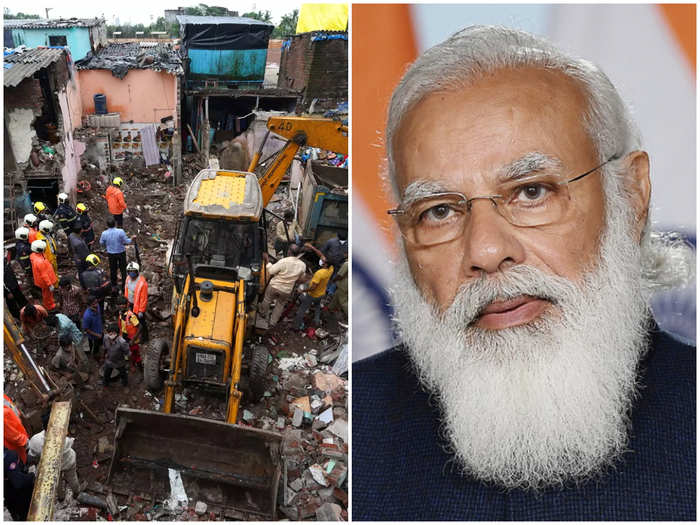 मालाड दुर्घटना, पंतप्रधानांकडून मदत जाहीर