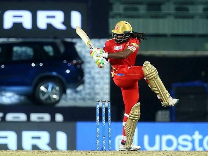 Chris Gayle IPL 2021 vs MI