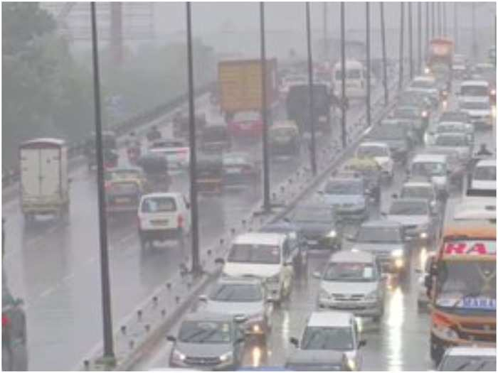mumbai monsoon news: heavy rains in mumbai, western express highway traffic slows, see photos