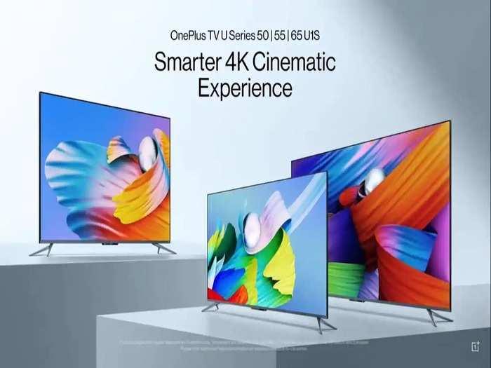 OnePlus TV U1S Series Model Launch Price Features