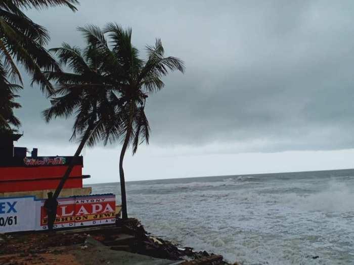 Rain in Thiruvananthapuram