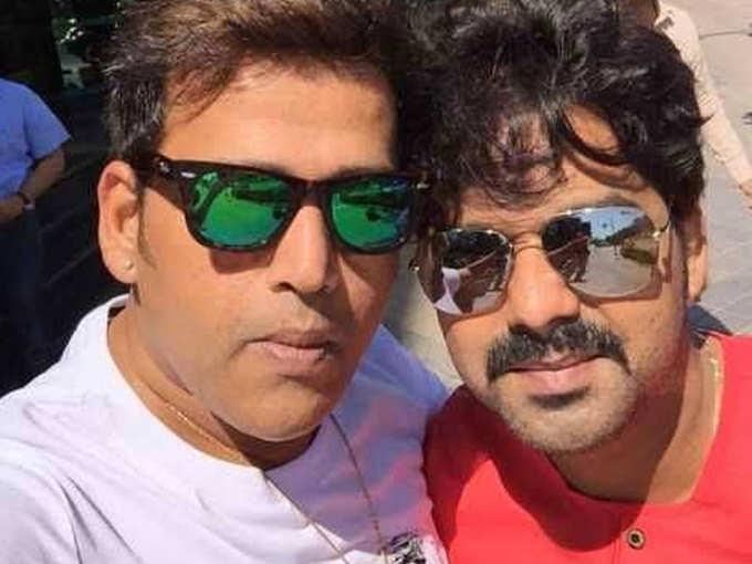 Ravi Kishan and Pawan Singh