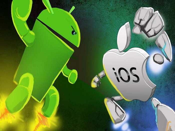 Google Android Vs Apple IOS Features Comparison