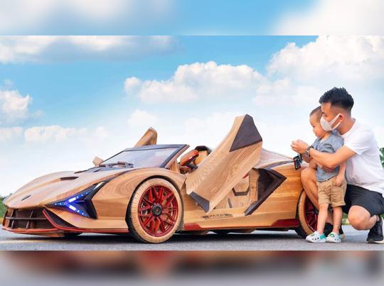 Lamborghini-wooden-electric-Vietnam