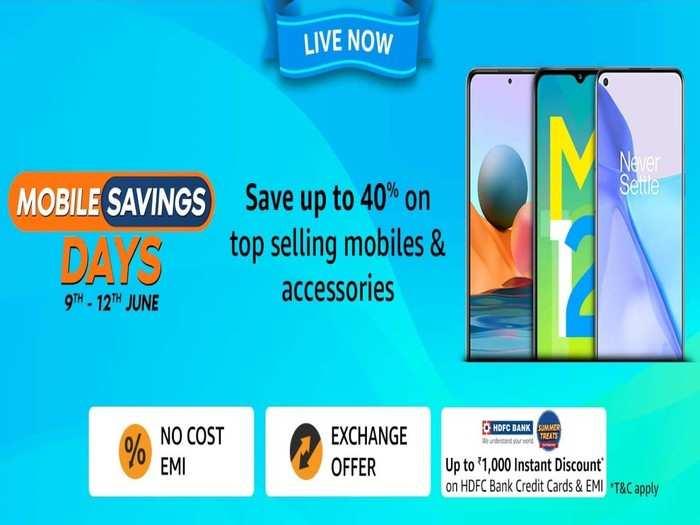 Amazon Mobile Savings Days Sale