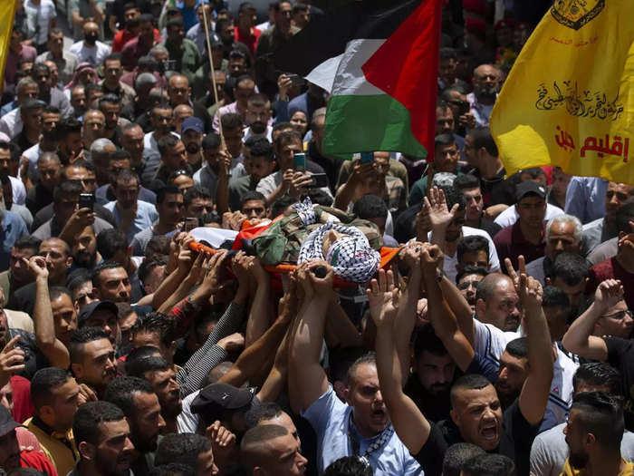 Palestine officer death in Israel firing
