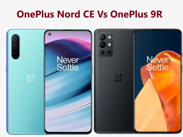 oneplus nord ce vs oneplus 9r which smartphone is better option for buy in premium segment