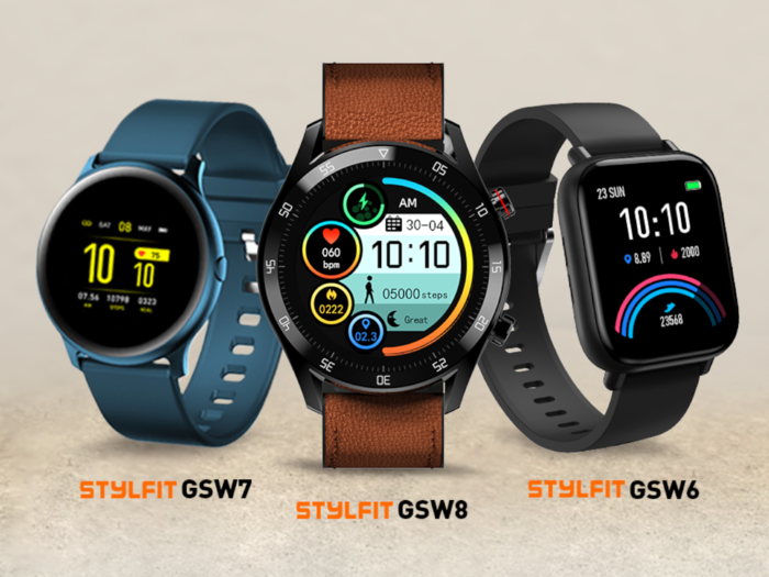 gionee launches stylfit gsw6, stylfit gsw7, stylfit gsw8 smartwatches in india check price