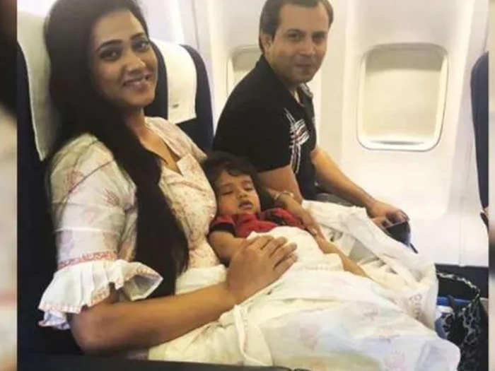 Shweta Tiwari With Abhinav Kohli