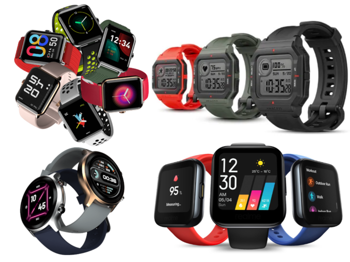 smartwatch buying guide these 7 smartwatches priced under rs 5,000 includes redmi watch, noise colorfit pro 3, amazfit neo and gionee sylfit gsw7