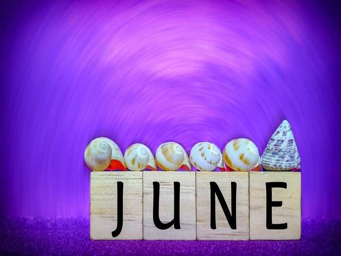 how are babies born in june