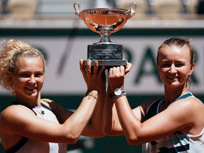 Krejcikova Two Title In French Open 2021: दो दिन में दो खिताब, क्रेजीकोवा ने फ्रेंच ओपन में रचा इतिहास, 2000 के बाद पहली बार हुआ ऐसा