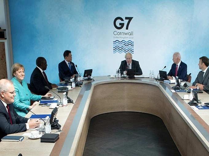 G-7 में चीन पर निशाना
