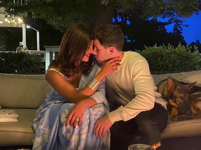 nick jonas terribly missing his wife priyanka chopra lovely post is giving couple goals