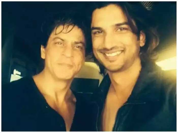 शाहरुख खानला स्वतःचा आदर्श मानायचा सुशांत; म्हणाला होता, त्यांनी माझे सर्व गैरसमज...
