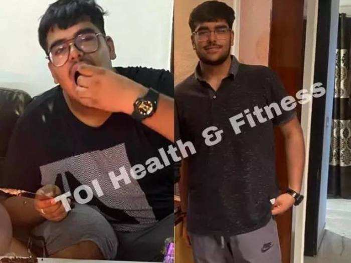 weight loss story this 124 kg boy reduced weight by 37 kg from this diet plan made by his mother