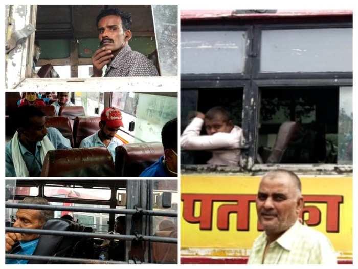 Coronavirus in Lucknow: न मास्क न सैनेटाइजेशन, कोरोना की तीसरी लहर को चुनौती दे रहे कैसरबाग बस अड्डे के कर्मचारी