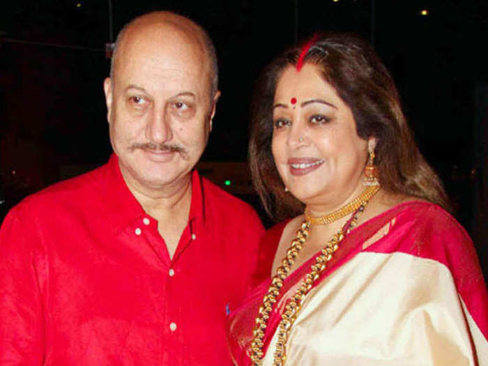 kirron kher and anupam kher untold love story on her birthday