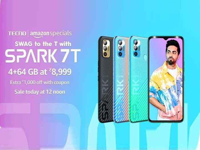 Tecno Spark 7T First Sale