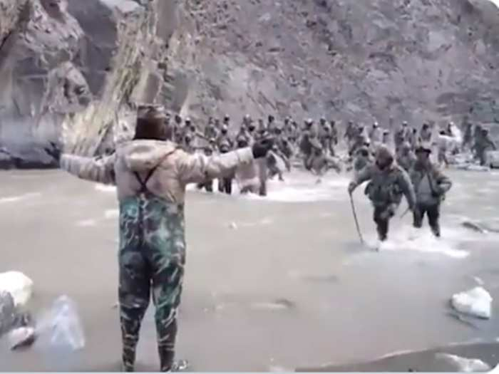 galwan valley clash video pla entered 50 meter from lac in indian territory see evidence